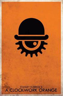 Poster Afiche Cine Peliculas Naranja Mecanica Kubrick