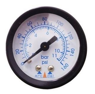 Manômetro Horizontal 1/4 160lbs