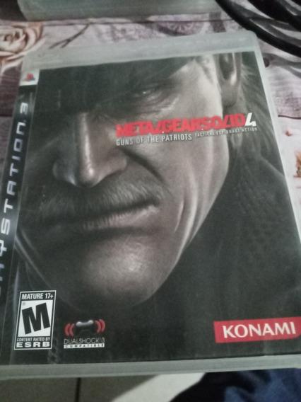 Metal Gear Solid 4 Ps3