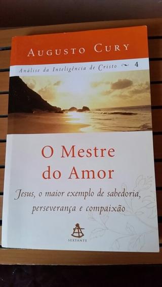 Livro O Mestre Do Amor - Evangélico. Augusto Cury