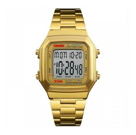 Relógio Digital Feminino Skmei 1337 A Prova D
