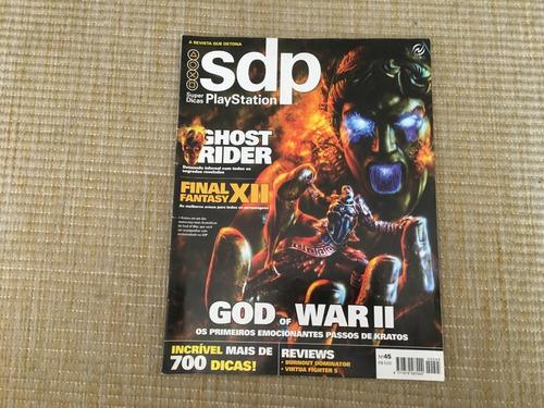 Revista Super Dicas Playstation 45 God Of War Ii Jogos P002