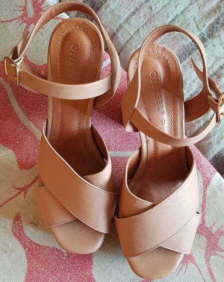 Sandalias Importadas Color Nude