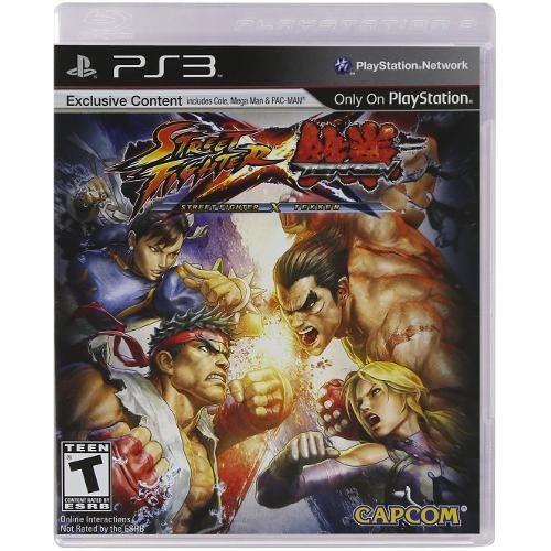 Street Fighter X Tekken Mídia Física Lacrado Ps3