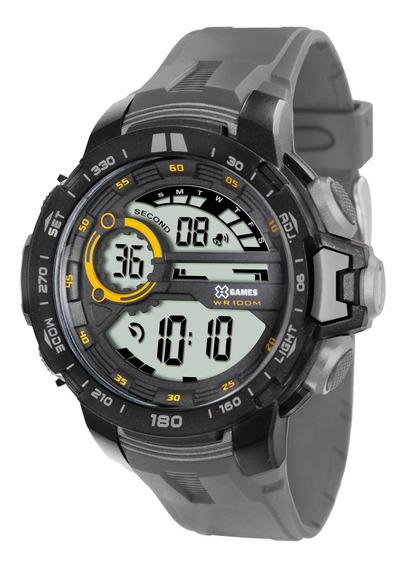 Relógio Xgames Xmppd374 Bxgx Masculino Cinza Digit- Refinado