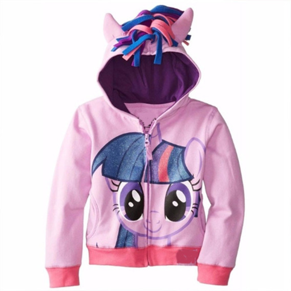 Niña Sudadera My Little Pony Unicornio Rainbowdash Twilight