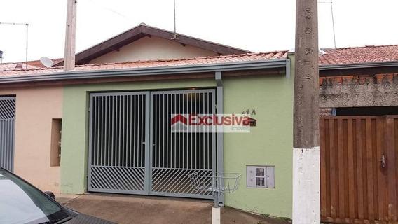 Casa Com 2 Dormitórios Para Alugar, 85 M² Por R$ 1.300,00/mês - Residencial São José - Paulínia/sp - Ca1535