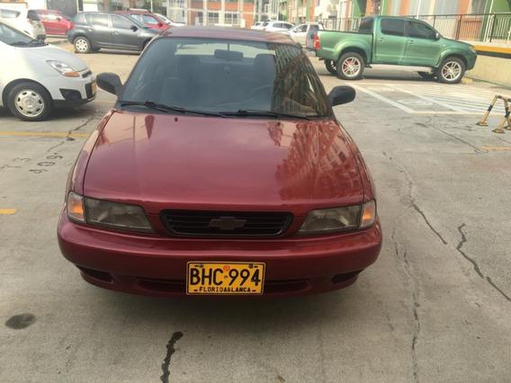 Chevrolet Esteem 1300c.c; 4 Puertas, Sedán, Color Rojo