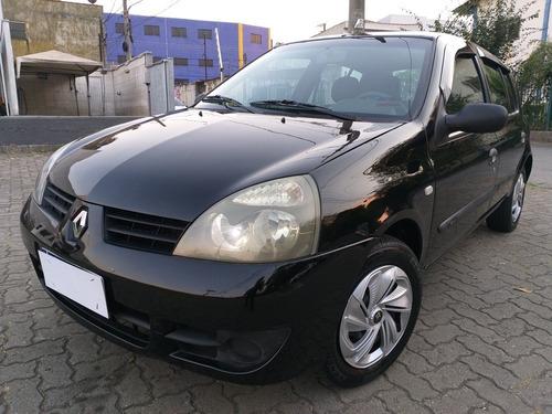Imagem 1 de 12 de Renault Clio 1.0 16v Authentique Hi-flex 5p Manual 2008