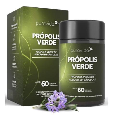Própolis Verde (60 Cápsulas) - Pura Vida