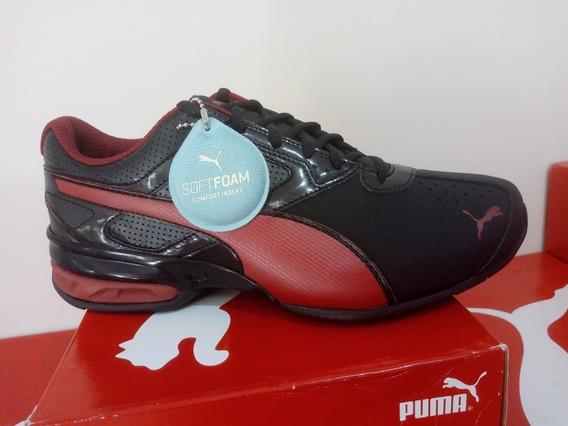 Tenis Puma Negro Red Tazon Oferta