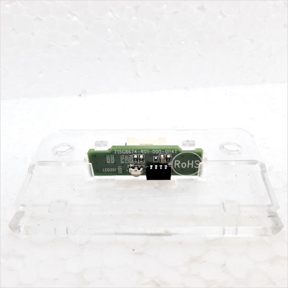 Placa Sensor Controle Ir Remoto Aoc Le43s5977 Original *