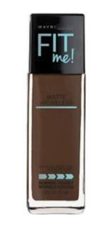 Maybelline New York Base Líquida Maquillaje Matte Fit Me