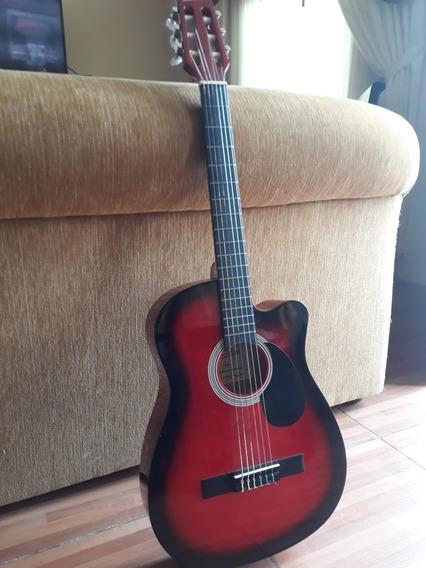 Guitarra En Buen Estado Con Forro