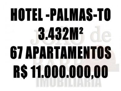 Ref.: 399 - Hotel Em Palmas-to Para Venda - V399