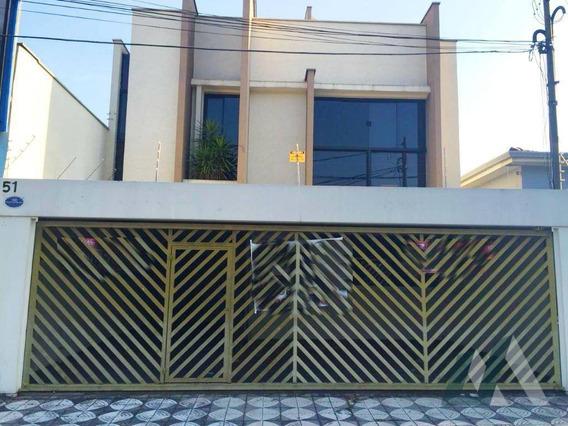 Sobrado Comercial Para Venda E Locação, Vila Trujillo, Sorocaba. - So0714