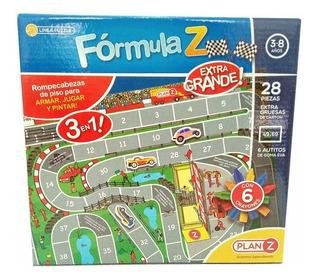 Rompecabezas 3 En 1 Formula Z Juegos Didacticos 28 Piezas