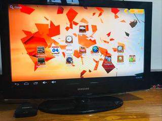 Televisor Samsung Tv Lcd 32 + Smart Box Noga + Teclado Bt