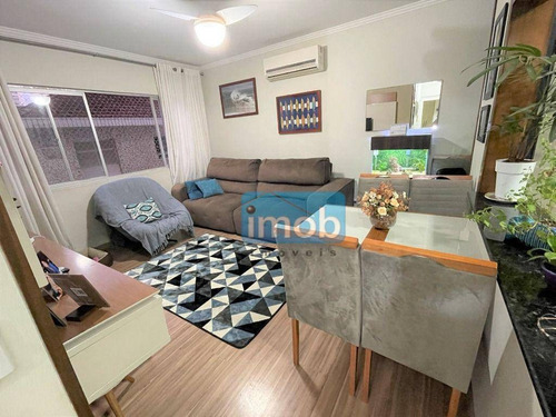 Imagem 1 de 14 de Apartamento Com 2 Dormitórios À Venda, 101 M² Por R$ 375.000,00 - Marapé - Santos/sp - Ap8015