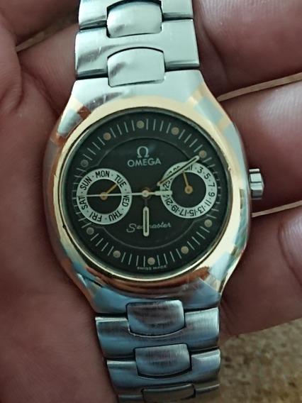 Reloj Omega Acero Y Oro Polaris