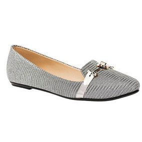Zapatos Casual Balerinas Been Class Dama Gris Dtt U60996