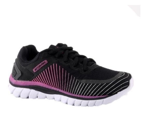 Zapatilla Atomik Footwear - 1986-1801003288410cw-negro