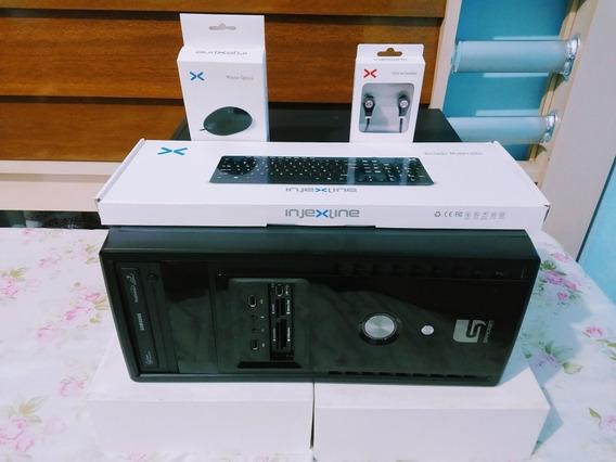 Computador Pentium Dual-core 4gb Ram - 500gb Hd + Kit