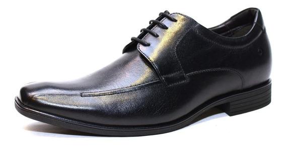 Zapato Democrata Hombre Taco Interno 6 Cm 191102 Cuotas