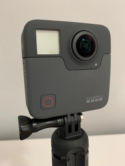 Câmera Gopro Fusion 360° Com Cartões Sandisk.