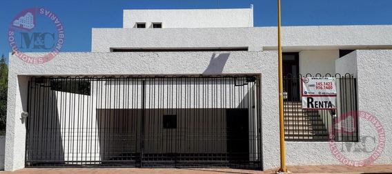 Casa En Renta En Fraccionamiento Campestre Vi Sección Al Norte De Aguascalientes