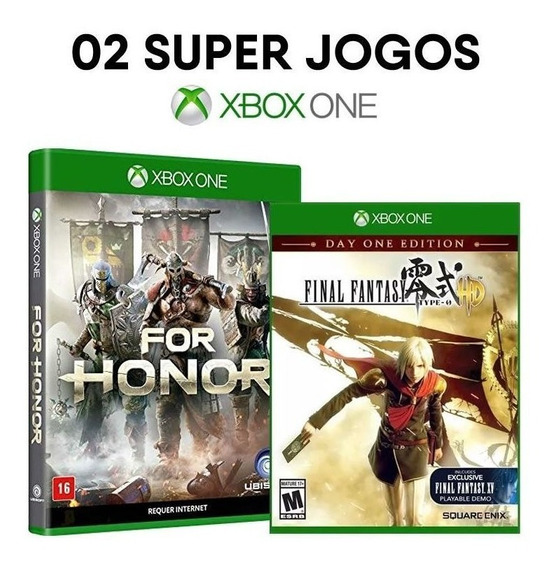 For Honor + Final Fantasy - Xbox One - Mídias Lacradas