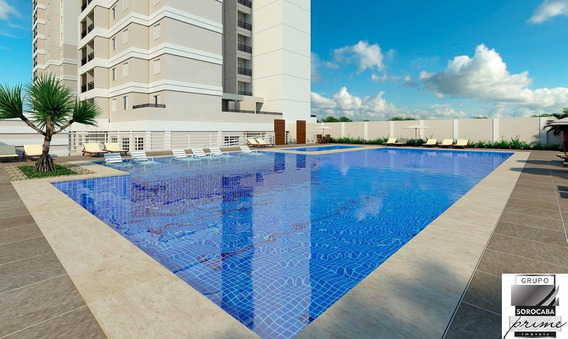 Oportunidade Apartamento À Venda No Residencial Montpellier, 3 Dormitórios Sendo 1 Suíte, 95 M² Em Sorocaba/sp Próximo Ao Shopping Olga - Ap00205 - 67650335