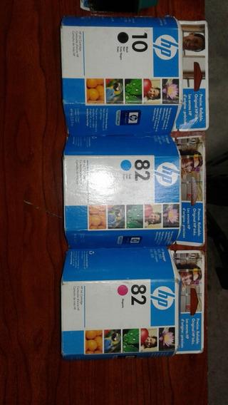 Vendo Cartuchos En Su Caja 10 82 Azul Solo Ese