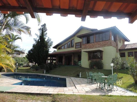Casa Com 4 Dormitórios À Venda, 480 M² Por R$ 1.600.000,00 - Granja Viana - Jandira/sp - Ca1319