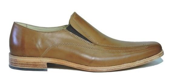 Zapato Hombre Vestir Cuero Suela Elastico Base Suela Sorba