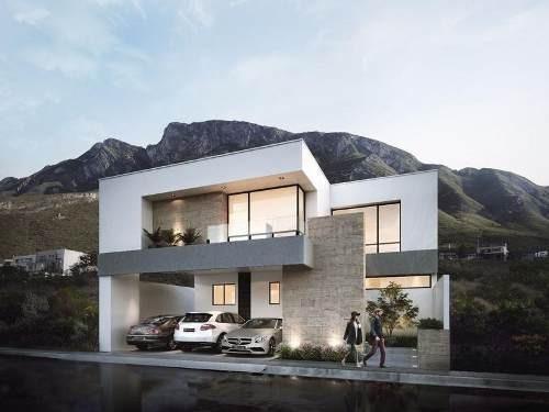 (csm) Hermosa Casa Contemporánea En Pre-venta, En Cantizal