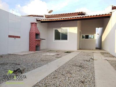 Casa Com 2 Dormitórios À Venda, 75 M² Por R$ 125.000 - Barrocão - Itaitinga/ce - Ca0246