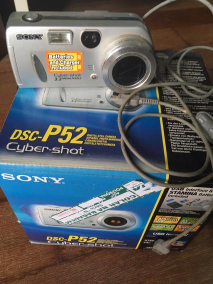 Camera Fotográfica Sony Dsc P-52