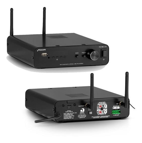 Amplificador Frahm Rd160 G2 Com Wi-fi Para Som Ambiente 160w