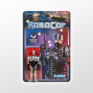 Robocop Reaction Robocop Battle Damaged Super 7 Tierra Prima