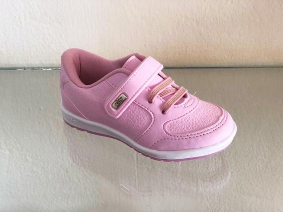 Tênis Infantil Menina Kidy Flex 1650164 Rosa Promoção 2019