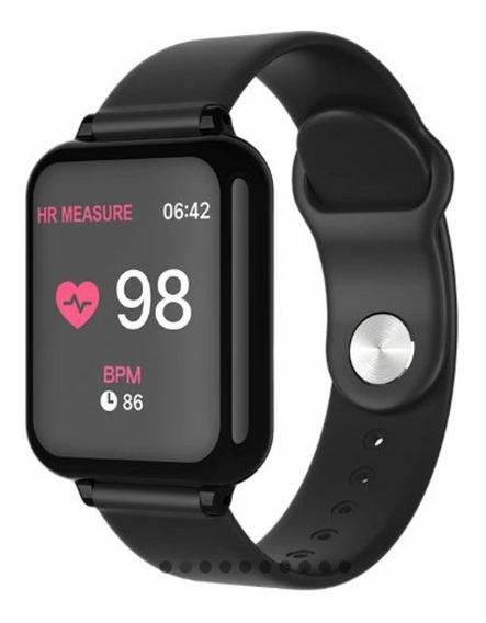 Relógio B57 Inteligente Ios Android Bluetoth
