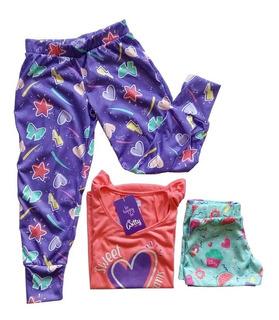Witty Girls Pijama 3 Piezas Space Girls Nenas Dormir