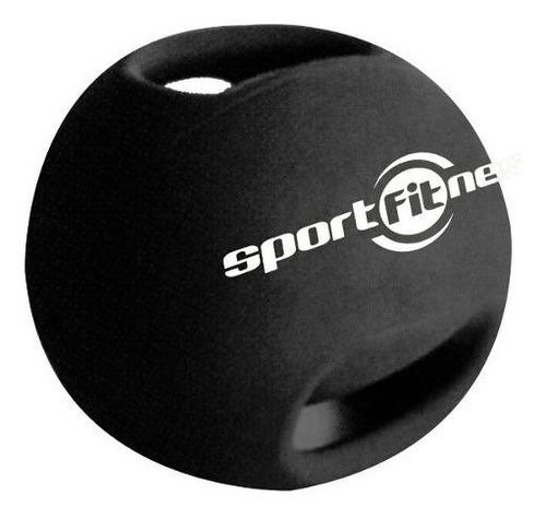 Imagen 1 de 3 de Balón Medicinal Con Agarre 3kg Gimnasio Crossfit Sportfitnes