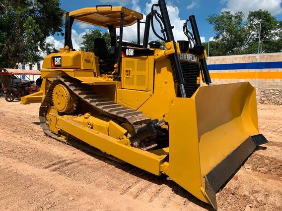 Tractor Bulldozer D6r Cat 2004 Cabina Abierta, Riper Zanco.