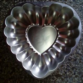 Molde De Corazón Cap Medio Kilo 30x28 Wilton Poco Uso