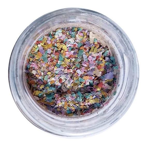Glitter Natural E Biodegradável 1g Pó De Unicornico