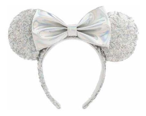 Disney Parks Tiara Minnie Prata Disney Store