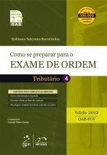 Livro Como Se Preparar Para O Exame De Ordem - Tributário 4