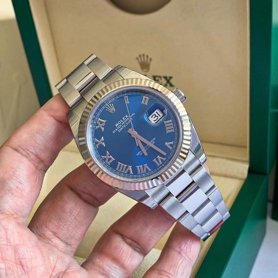 Rolex Datejust 41mm Ouro Branco & Aço - Modelo Novo